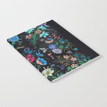 WILD FLOWERS Notebook by Salome