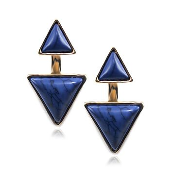 Gypsy Earrings-Sapphire