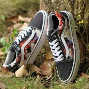 Vans Classic Print Old Skool Flats Sneakers Sport Shoes G-FEU-SY