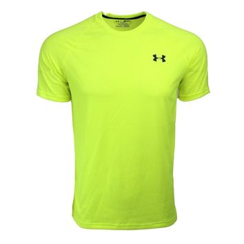 Under Armour Men's UA Tech Heat Gear Patterned T-Shirt, Multi-Color (Size S-XL)