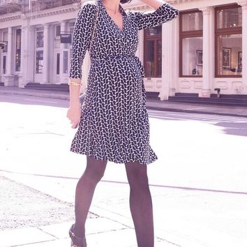 Seraphine Georgina Maternity Wrap Dress