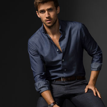 DENIM SHIRT LIMITED EDITION - NYC Limited Edition - Casual shirts - MEN - United States of America / Estados Unidos de América