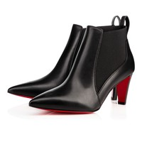 Verafusa 70 Black Leather - Women Shoes - Christian Louboutin