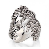 Magic Mask Crystal Ring