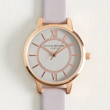 Head of the Classic Watch in Lilac & Silver | Mod Retro Vintage Watches | ModCloth.com