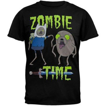 PEAPGQ9 Adventure Time - Zombie Time T-Shirt
