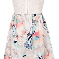 The Strapless Summer Flower Dress - 29 N Under