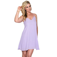 Find Your Path Shift Dress in Lilac