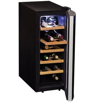 Koolatron 12 Bottle Deluxe Wine Cellar