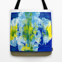 Iris Tote Bag by Cindy White Photo Art