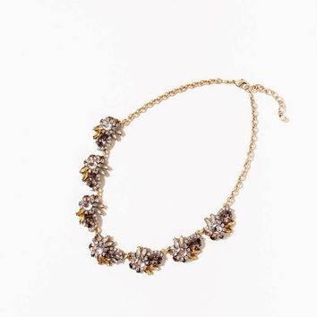 Camille Brown Crystal Necklace