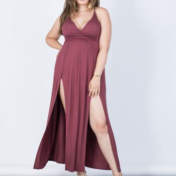 Plus Size Jade Strappy Dress