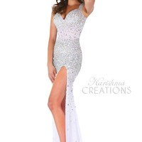 Envious Couture by Karishma Creations 3687 Sparkly Sequin Dress
