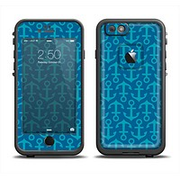 The Blue Anchor Collage V2 Apple iPhone 6 LifeProof Fre Case Skin Set