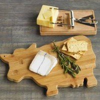 VivaTerra - VivaTerra - Mousetrap Cheese Board and Moo-Moo Serving Board