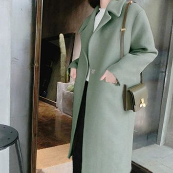 Long Oversized Coat