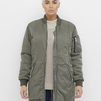 FULL METAL BOMBER JACKET
