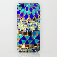 mosaic and beads iPhone & iPod Skin by Sylvia Cook Photography