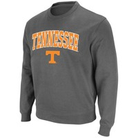 Tennessee Volunteers Arch Logo Crewneck Sweatshirt - Charcoal