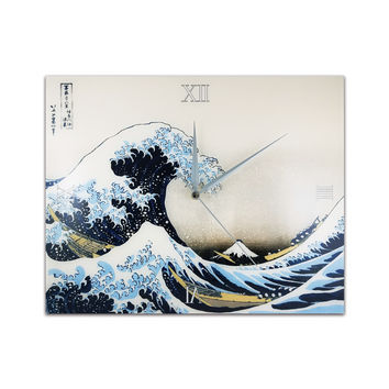 [Cettiart] Art Wall Clock: Hokusai - The Great Wave off Kanagawa