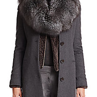 Eleventy - Fox Fur Scarf - Saks Fifth Avenue Mobile