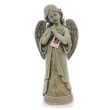 Home & Garden Praying Celtic Angel Garden Statue Outdoor Decor
