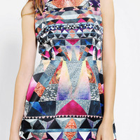 Urban Outfitters - Premonition Crusader Geo-Print Shift Dress