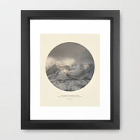 love the mountains... Framed Art Print by Guido Montañés | Society6