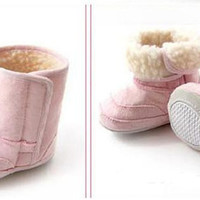 New arrivals Baby Childrens Shoes Boots Thick Warm Snow Boots Toddler Soft Leather Walking shoes 3 colors available AL003