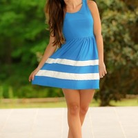 Sailing In The Blue Lagoon Dress-Marine