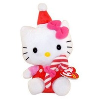TY Beanie Baby - HELLO KITTY ( RED CANDY CANE)