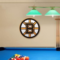 Boston Bruins 3D Foam Logo Sign