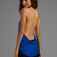 Blue Life Cowl Back Hayley Halter in Cobalt from REVOLVEclothing.com