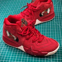 Nike Kyrie 4 Red #2 Basketball Shoes - Best Online Sale