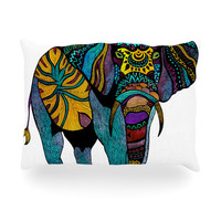 "Pom Graphic Design ""Elephant of Namibia"" Oblong Pillow"