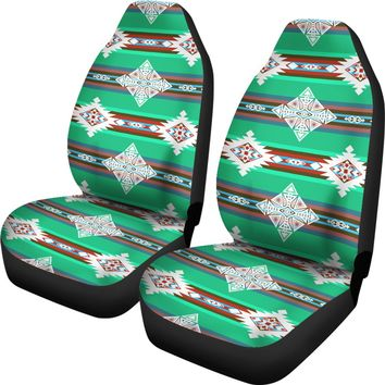 Plateau Stars Set of 2 Car Seat Covers