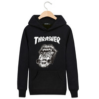 Thrasher Hoodies with Pocket Streetwear