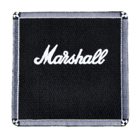 Marshall Amp Patch Iron on Applique Alternative Clothing