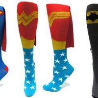 Superhero Cape Socks - Superman Socks with Cape | TV Store Online