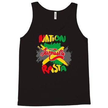 rasta nation, the reggae and dancehall Tank Top