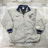 Nike USA Soccer National Team Windbreaker Jacket Mens Size Medium