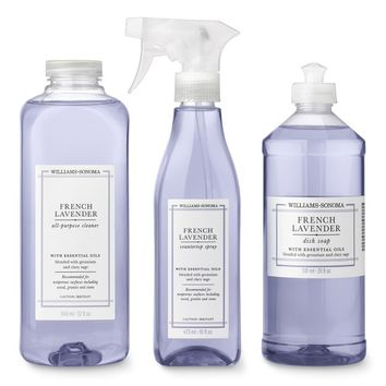Williams Sonoma French Lavender Cleaning Set