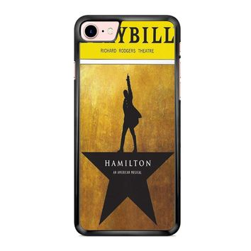Hamilton Playbill iPhone 7 Case