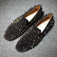 Cl Christian Louboutin Loafer Style #2314 Sneakers Fashion Shoes - Best Deal Online