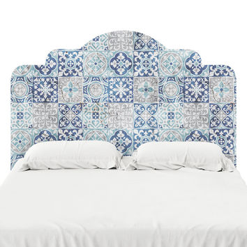 Tile Pattern Headboard Decal