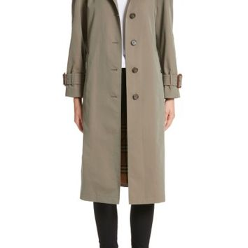 Burberry Crostwick Side Slit Tropical Gabardine Trench Coat | Nordstrom