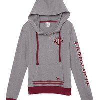 Texas A&M University Bling Pullover Hoodie - PINK - Victoria's Secret