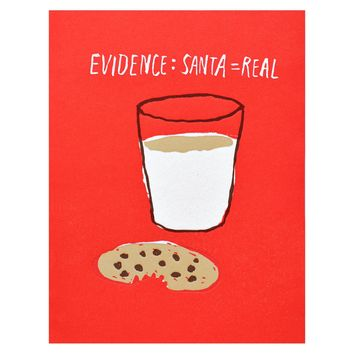 Cookies & Milk Christmas Cards Boxed