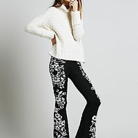 Knitz by For Love & Lemons Womens Cuddle Up Flares