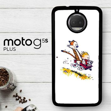 Calvin And Hobbes X4727  Motorola Moto G5S Plus Case